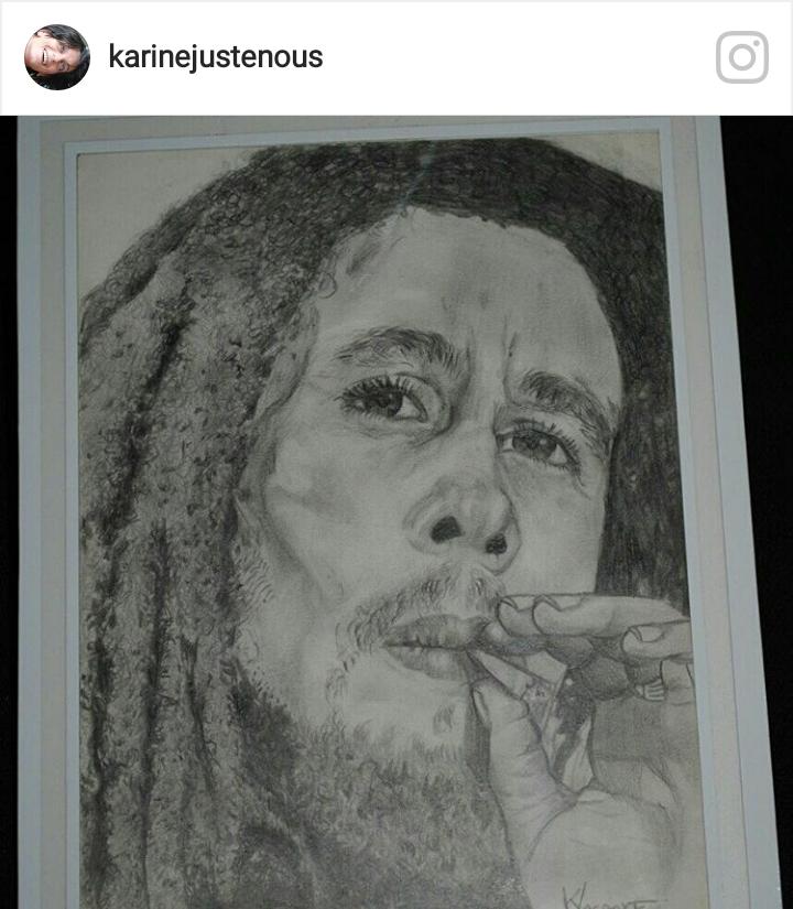 Bob Marley by Etoileka